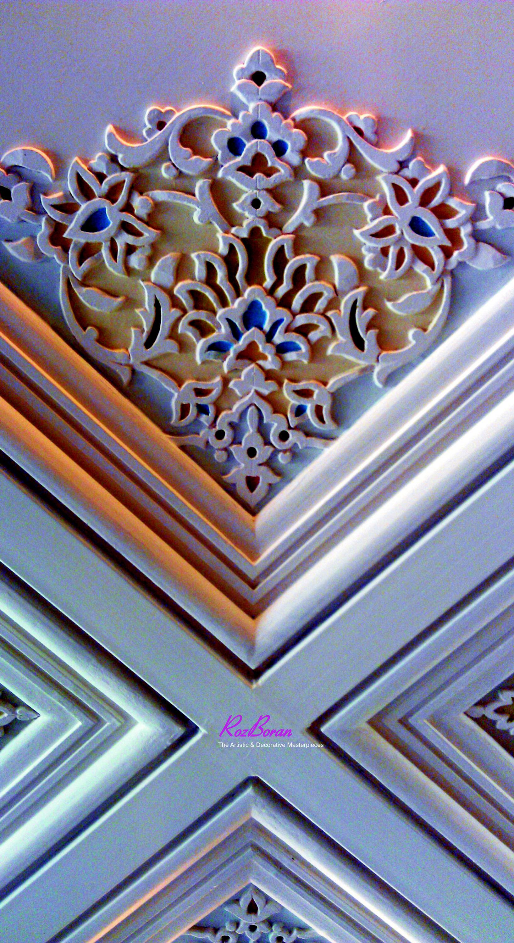 گچبری ایرانی سقف
